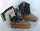 John Deere Johnny Popper Crib Leather  Camo/Tan Pull-On Cowboy Boots ALL SIZES