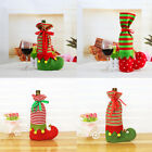 MagiDeal Christmas Boots Champagne Wine Bottle Cover Bag Pouch Holder Gift Favor