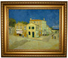 van Gogh The yellow house (The street) 1888 Framed Canvas Print Repro 16x20