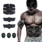 Muscle Training Body pack Set ABS Electrical Muscle Simulation Black image