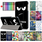 Magnetic Pattern Slim Smart Cover Stand Case For Samsung Galaxy Tab A 8.0 Tablet