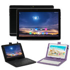 XGODY 10.1'' Android 6.0 Tablet PC 16GB Quad Core Unlocked Dual SIM Bundle Case