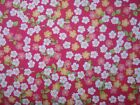 Floribella's small Flowers on red 100% cotton fabric from Riley Blake