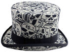 THE DAY OF THE LIVING DEAD 100% FELT TOP HATS  FESTIVALS GOTHIC STEAMPUNK  S-2XL