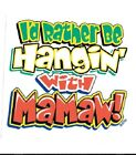 Mamaw hangin T-shirt robber infant toddler baby shower gift Christmas US size z