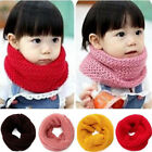 2018 Winter Fall Warm Scarf Kids Girls Shawl O-Ring Neck Wraps Knit Scarves New