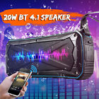 20W BLUETOOTH 4.1 CASSA SPEAKER PORTATILE IMPERMEABILE STEREO AUX USB POWER BANK