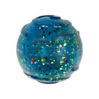 KONG SQUEEZZ CONFETTI BALL SMALL Durable Squeaky Eye Catching Fetch Dog Toy