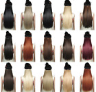 Straight One Piece Clip in Hair Extensions