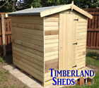 10x6 FACTORY SECONDS Apex Shed Windows Optional T&G Tanalised Treated Storage