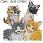 CATURDAYS COLLECTION - MACHINE EMBROIDERY DESIGNS ON CD