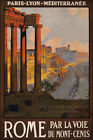 Poster, Many Sizes; Rome Travel Poster C1920