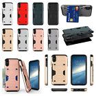 Case For IPhone 7 8 X Cover Quality PC & TPU Hybrid Armor Back Cover With Card