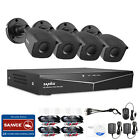 SANNCE 1080P HDMI HD-TVI 8CH - 4CH DVR IR CUT CCTV Security Camera System 1TB US