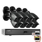 ANNKE 1080P HDMI HD-TVI 8CH / 4CH DVR IR CUT CCTV Security Camera System 1TB US
