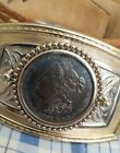 1921 Morgan Sillver Dollar Belt Buckle
