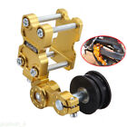 Motorcycle Aluminum Adjuster Chain Tensioner Bolt On Roller Tool Universal