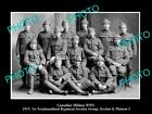 OLD HISTORIC PHOTO OF CANADIAN MILITARY WWI 1st NEWFOUNDLAND REGIMENT, S8 P5