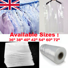 Clear Polythene Garment Protection Covers Suit Dress Bags Plastic Poly Roll