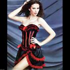 Showgirl Burlesque Corset & Skirt Costume - PLUS SIZE