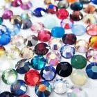 144 Genuine Swarovski ( NO Hotfix ) 34ss Crystal Rhinestone Mixed Colors ss34