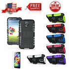 Hybrid ShockProof Kickstand Dual Layer Case Cover for Samsung Galaxy S5 SM-G900