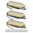 3pcs Alnico 5 Guitar Single Coil Pickups Spare Neck/Middle/Bridge Pickup Kit HOT
