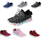 Unisex Light Up LED Shoes For Youth Kids Athletic Sneakers 6 Colors