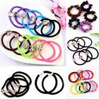 100pcs Elastic Hair Rope Women Hair Ties Ponytail Holder Hair Accessories Gift