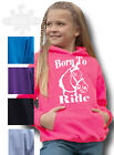 HORSE RIDING hoodie Equestrian PONY RIDING KIDS & ADULT`S HOODIE BORN TO RIDE
