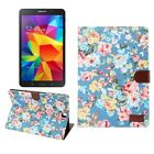 """7""""-10.5"""" Slim Leather Magnetic Wallet Stand Case Cover For Samsung Galaxy Tablet"""