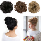 Lady Clip in Hair Bun Hairpiece Extension Ponytail Synthetic Fake Hair Messy Bun