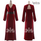 Plus Size Womens Long Sleeve Formal Wedding Gown Maxi Party Evening Prom Dress