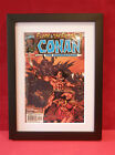 Comic Book Wooden Frame in black or white with Mount, marvel,DC etc