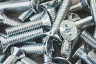 M2.5 M3 M3.5, Machine Screws Pozi Countersunk CSK, Zinc Plated BZP
