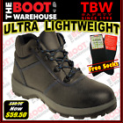 TBW Cobra LIGHTWEIGHT WORK BOOTS, High Quality Leather - Cheap Steel Cap Safety