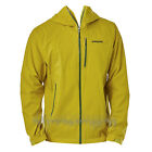 PATAGONIA Mens STRETCH RAINSHADOW Packable Rain JACKET Fluid Green