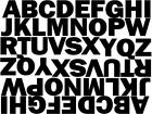 """1 1/4"""" Capital Letters for Bins, Sports, Signs. Lots of colours to choose from !"""
