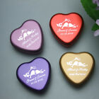 12-Personalized heart wedding bonbonniere gift tin gift box wedding favour boxes