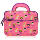 "8.9"" ~ 10.1"" Tablet Neoprene Cute Kids Sleeve Carrying Case w/ Handle & Pocket"