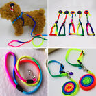 Pet Dog Cat Rope Collar Traction Lead Leash For Walking Training Adjust Harness