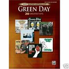 GREEN DAY 20 GREATEST HITS EASY GUITAR TAB & VOICE ROCK MUSIC BOOK