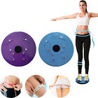 Twist Waist Torsion Disc Board Aerobic Exercise Fitness Reflexology Magnets 8OP