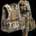 USTOCK Tactical Military Swat Battle Molle Combat Assault Plate Carrier Vest