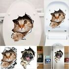 3d Hole View Cats Wall Sticker Decoration Animal Decals Art Sticker Wall Poster