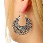 Woman Hook Floral Hollow Earrings Exquisite Popular Pierced Dangle Jewelry