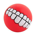 pet dog ball teeth funny silicon toy chew squeaker squeaky sound dogs play toy …
