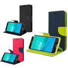 For Various Asus Zenfone Wallet Case Cover Card Slot Stand Flip Full Protection