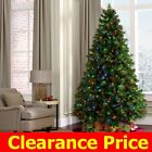 Fiber Optic Pre-lit Christmas Tree 3/4/5/67 FT 350 Multicolor Led Lights Stand
