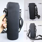 750/1000ml Water Bottle Carrier Insulated Cover Bag Pouch Holder Shoulder Strap